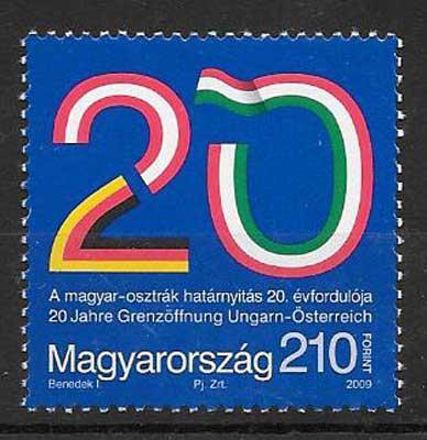 sellos Emisión Conjunta Hungría 2009