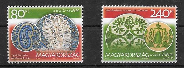 sellos Emisión Conjunta Hungría 2010