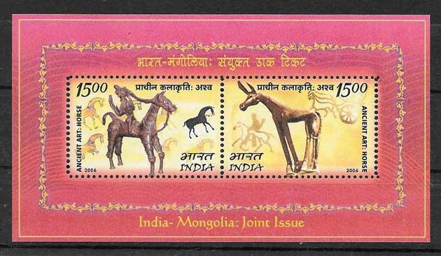 sellos Emisión Conjunta India 2006