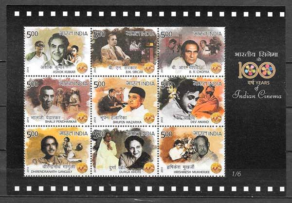 sellos cine India 2013