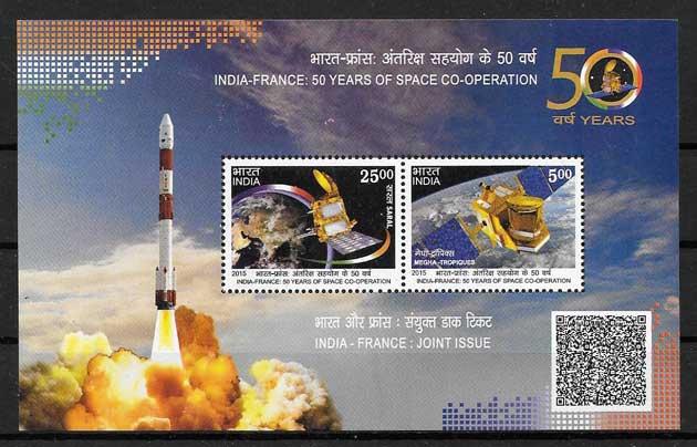 sellos Emisión Conjunta India 2015
