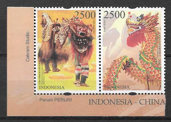 sellos emisiones conjunta Indonesia 2007