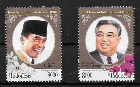 sellos Emisión Conjunta Indonesia 2015