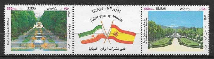 sellos colección Emisiones Conjunta Irán 2005