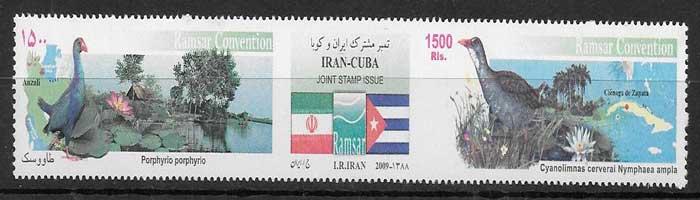 colecci´ñon sellos Emisión Conjunta Irán 2009