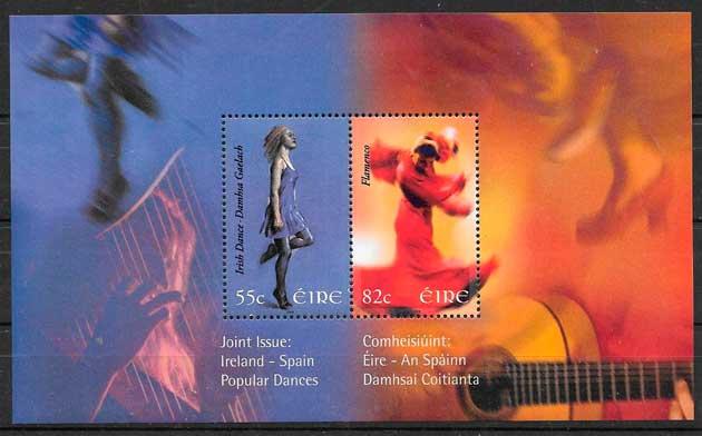 sellos emisiones conjuntas Irlanda 2008