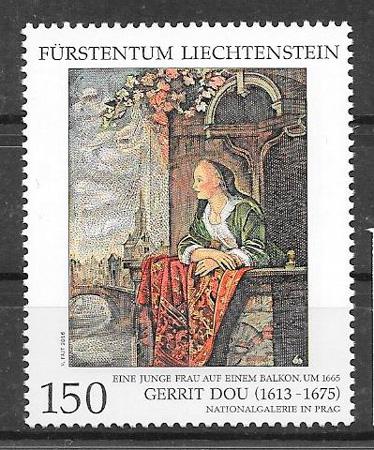 sellos emision conjunta Liechtenstei