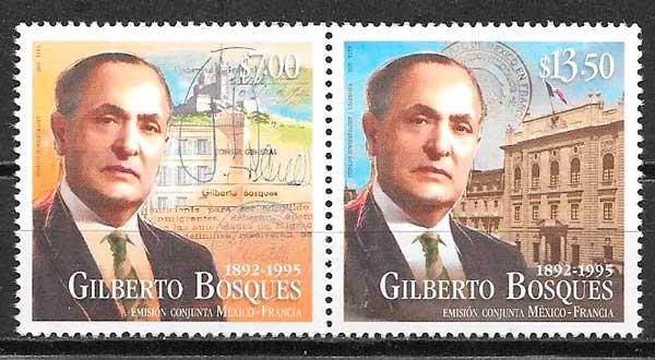 sellos emisión conjunta México 2015