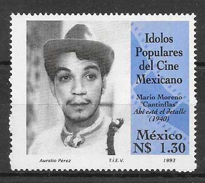 sellos cine México 1993