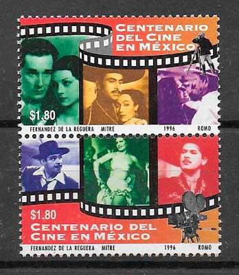 filatelia cine México 1996