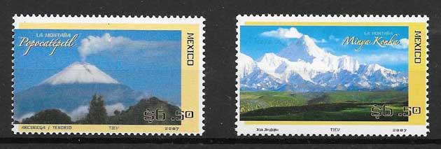 colección sellos Emisiones Conjuntas México 2007
