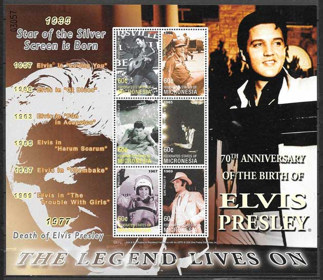 sellos cine Micronesia 2005