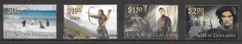 sellos cine Nueva Zelanda 2008