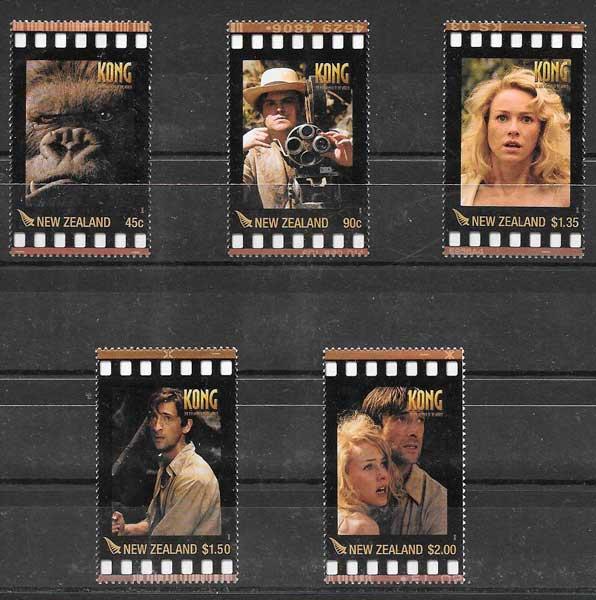 Filatelia cine Nueva Zelanda 2005