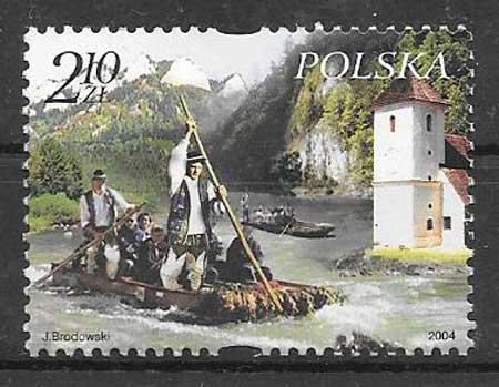 Colección sellos Emisión Conjunta 2004 Polonia
