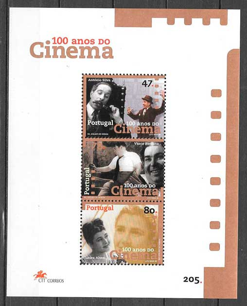 filatelia cine Portugal 1996