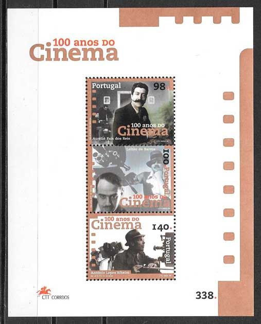 filatelia cine Portugal 1999