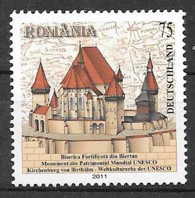 sellos emisiones conjuntas Rumanía 2011