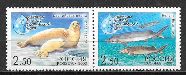 sellos emisiones conjuntas Rusia 2003