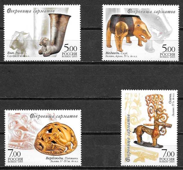 sellos arqueología Rusia 2005