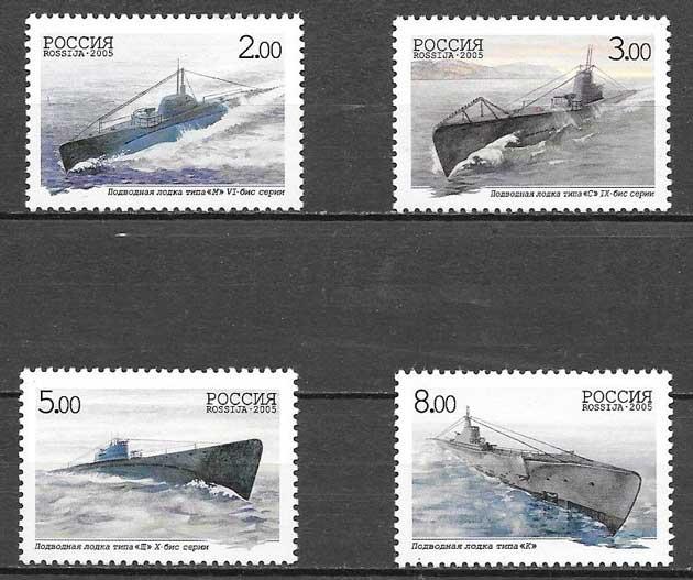 sellos transporte Rusia 2005