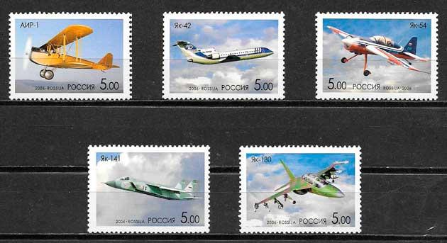 sellos transporte Rusia 2006
