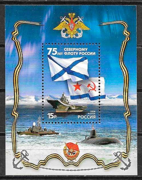 sellos transporte Rusia 2008