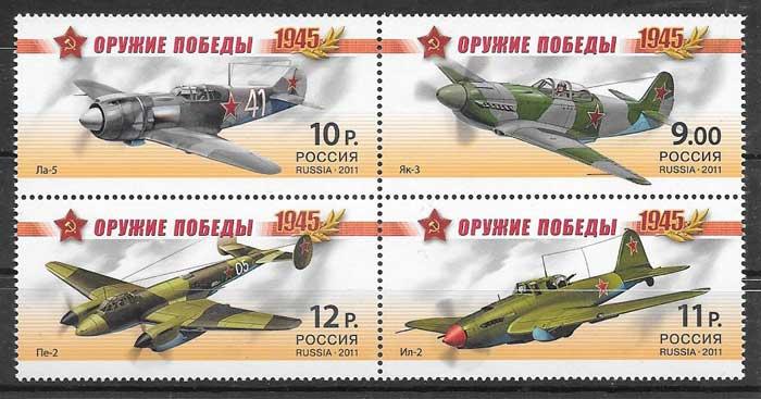 sellos transporte Rusia 2011