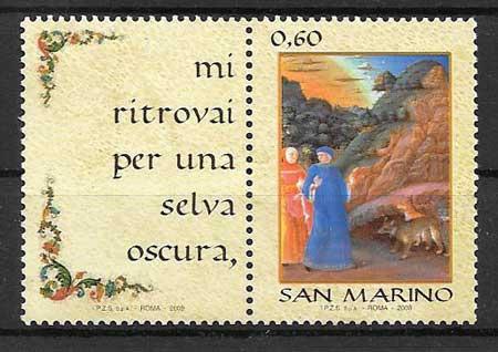 sellos colección San Marino 2009