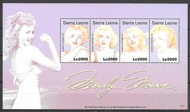 sellos filatelia Sierra Leona 2006