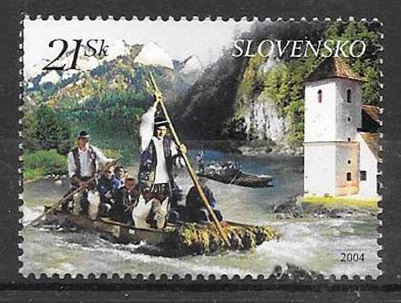 sellos Emisión Conjunta Eslovaquia 2004