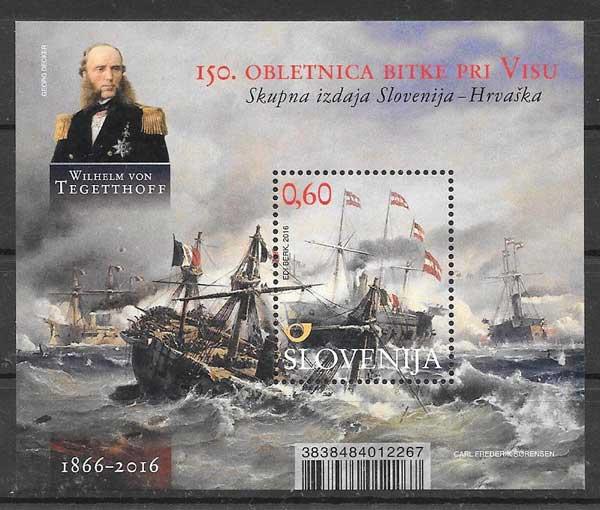 sellos Emisión Conjunta Eslovenia 2016
