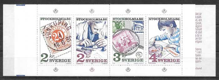 sellos Emisón Conjunta USA 1986