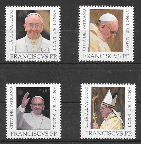 Filatelia Emisión Conjunta Vaticano 2013