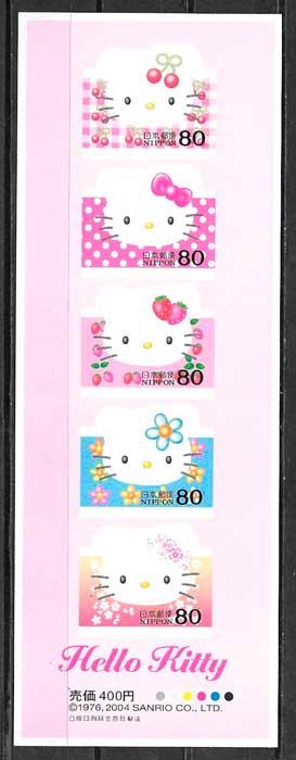 sellos cómic Japón 2004