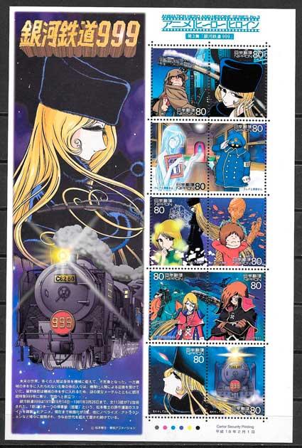 sellos cómic Japón 2006