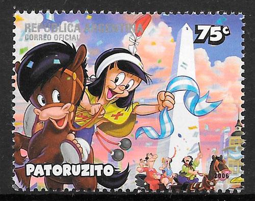 sellos cómic Argentina 2006