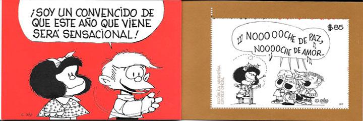sellos cómic Argentina 2017