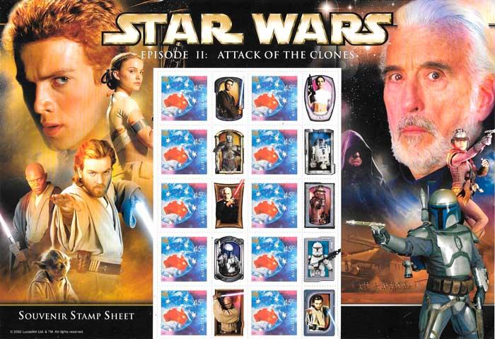 comprar sellos correos star wars
