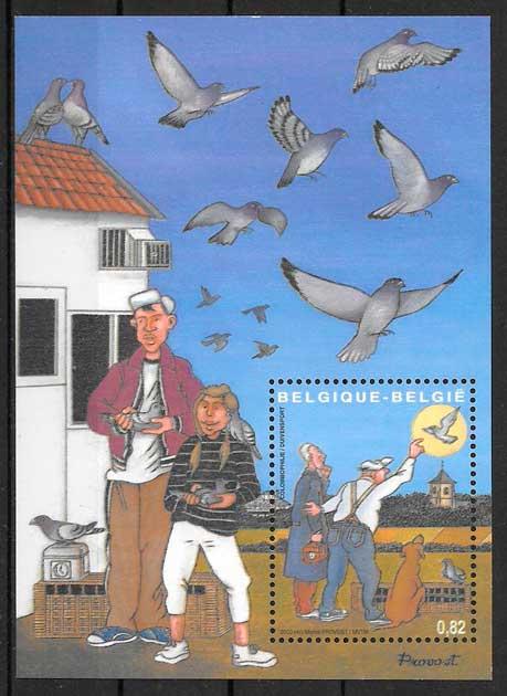 sellos cómic Bélgica 2003