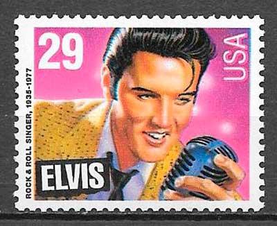 sellos cine Elvis Presley 1993