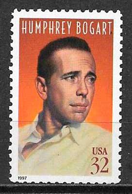 colección sellos cine USA 1997