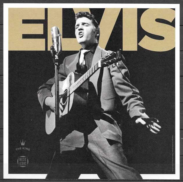 filatelia colección Elvis Presley USA 2016