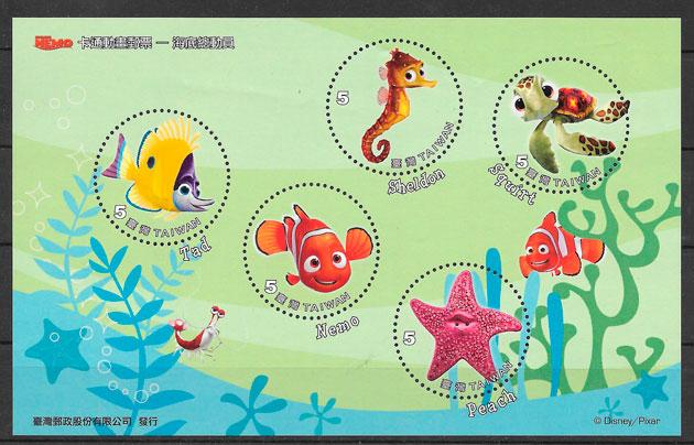 colección sellos cómic Formosa 2008