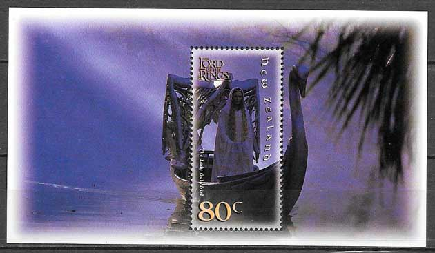 sellos cine Nueva Zelanda 2001