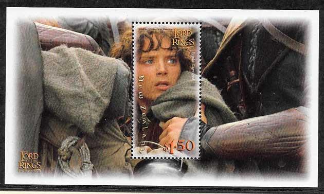 filatelia cine Nueva Zelanda 2002