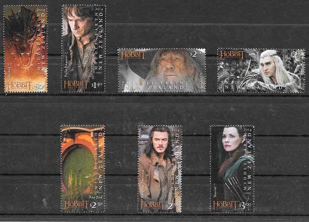 colección cine Nueva Zelanda 2014