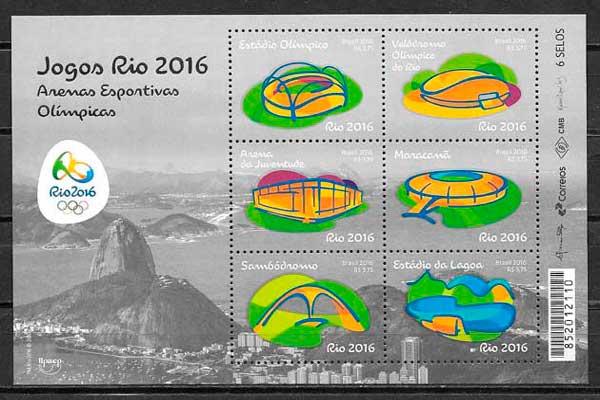 sellos UPAEP Brasil 2016