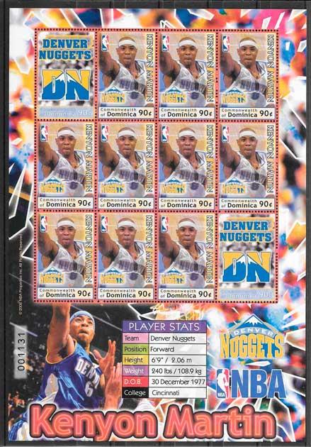 sellos NBA Dominica 2006