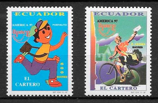sello UPAEP Ecuador 1997